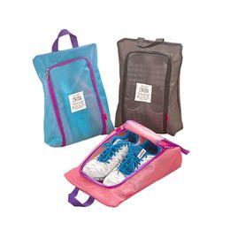 $enCountryForm.capitalKeyWord NZ - Wholesale- Shoes Storage Organizer Waterproof Basket women men bag travel Handbag Necessities items Accessories Supplies Product