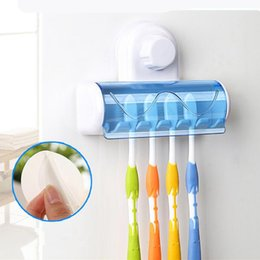 selling bathroom accessories abs pvc suction cup toothbrush holder kit toothbrush holder bathroom products