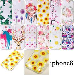 $enCountryForm.capitalKeyWord NZ - Cartoon Flamingo Soft TPU Case For IPhone X 8 6 6S Plus 7 SE 5 5S Samsung Galaxy NOTE8 NOTE 8 S8 Plus J3 J5 J7 2017 Flower Owl Phone Cover