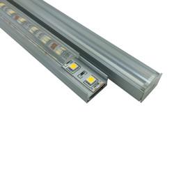 24v Pendant Canada - 10 X 1M sets lot U type aluminum profile for led strips and Al6063 T6 led light profile for ceiling or pendant lamps