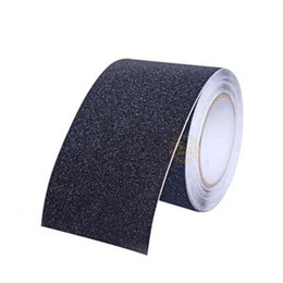 american floor mats UK - Wholesale-5M*15CM Anti Slip Tape Stickers for Stairs Decking Strips Shower Strips Pad Flooring Safety Tape Mat (Black)