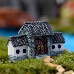 $enCountryForm.capitalKeyWord NZ - New arrival mini house fairy garden miniatures gnome moss terrarium home decor resin crafts bonsai for dollhouse DIY accessories
