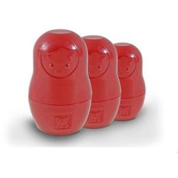 China High Quality Red Lovely Matryoshka Russian Nesting Doll Plastic Measuring Cups Family Beautiful Babushkas Kitchen Gadget suppliers