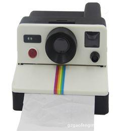$enCountryForm.capitalKeyWord UK - Wholesale- 2016 New Creative Camera Tissue Box Napkin Holder Toilet Paper Holder For Toilet Accessory Office Table Home Decor