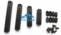 Toptan satış MP PTS M-O-E Handguard için iyi Kalite 4-Piece Raylı Set Siyah / Koyu Toprak /