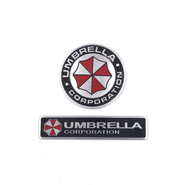 $enCountryForm.capitalKeyWord Canada - 3D Stickers Aluminum Umbrella Corporation Car Sticker and Decals 2 Types Car Styling 3D Car Decor For BMW AUDI VW Ford Stickers