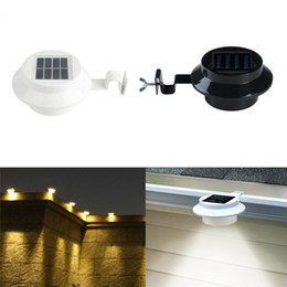 $enCountryForm.capitalKeyWord NZ - 3 LED Solar Fence Light Solar Energy Sink Lamp Eaves Solar Street LED Garden Lawn House Number Light Outdoor Light