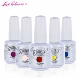 gelish gel nail polish colors 2019 - 2017 New arrival Mei-charm 602 colors gelish SOAK OFF Nail Polish 15ml 0.5oZ nail gel nail beauty DHL free cheap gelish