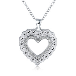 free necklaces UK - 10PCS lot Free shipping silver plated woman link necklace jewelry LKNSPCN860
