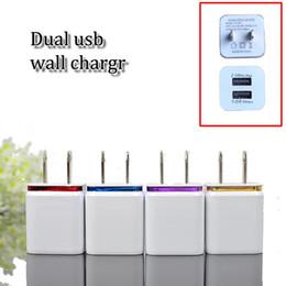 $enCountryForm.capitalKeyWord Canada - Wholesale dual usb travel wall chargers EU US plug metal dual port single port AC wall charger USB power adapter travel charge dock