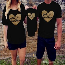 57a60ec2b1 Father Son Matching T Shirts Canada - 2017 Whosale family clothes Matching  Father Son Mom family