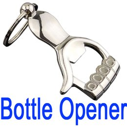 $enCountryForm.capitalKeyWord Canada - Fashion New Style Hand Shaped Bottle Opener Key Chain Keychain KeyRing Key Holder KeyFinder For Beer B103Q