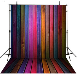 $enCountryForm.capitalKeyWord Canada - Colorful Wooden Wall Floor Backdrops for Photography Painted Wood Panels Kids Children Background Newborn Baby Studio Photo Booth Props