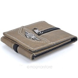 $enCountryForm.capitalKeyWord Australia - Hot Sale! 2016 New Fashion Pattern 3 Foldings Solid Durable Canvas Short Wallets Male Purse for Men