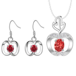 Com 925 pequeno fresco diamante pingente de colar de jóias conjunto de terno katami de todos os jogo roupas personalizadas atacado