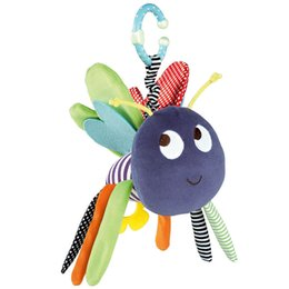 12 Months Toys Canada - Colorful Baby Rattle Toys 0-12 Months Plush Butterfly Style Stuffed Toys for Newborns Baby Mobile Rattle Toys