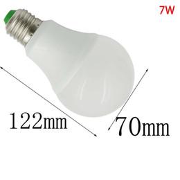 7w Energy Saving Bulb Australia - E26 E27 7W LED 70W Equivalent Globe Ball Bulb SMD Energy Saving Light Household Lamp AC DC 12V-24V   AC 85V-265V No Flicker