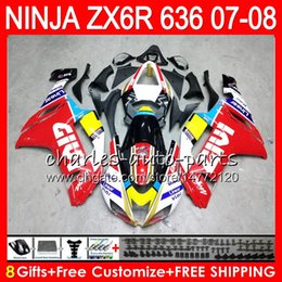 Red black kawasaki zx6R online shopping - Bodywork For KAWASAKI red black NINJA ZX636 CC ZX600 C ZX6R NO122 ZX R ZX ZX ZX ZX R Fairing kit