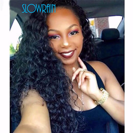 $enCountryForm.capitalKeyWord Australia - Afro Kinky Full Lace Human Hair Wigs For Black Women Brazilian Virgin Glueless Full Lace Wigs Afro Kinky Curly Lace Front Wig