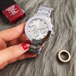 Roses butteRflies online shopping - New Vogue Famous Brand Watches Men Women Casual Designer Fashion Stainless Steel Gold Rose Gold Women Dress Wristwatches Drop shipping