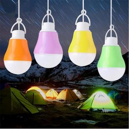 Blue night light BulBs online shopping - LED Lamp USB Bulb Light Portable Night Light V DC W W W W Work With Power Bank Notebook Camping Light