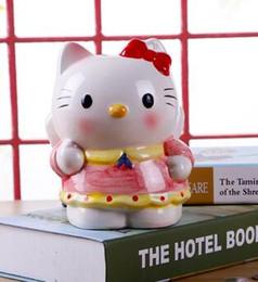 $enCountryForm.capitalKeyWord NZ - Creative gift saving jar hello Kitty piggy bank for a large fashion set for children's cartoon birthday present