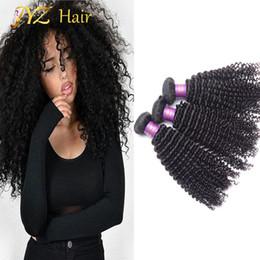 $enCountryForm.capitalKeyWord Canada - JYZ Top Quality Mongolian Kinky Curly Virgin Hair 3 Bundles Unprocessed Brazilian Peruvian Kinky Curly Virgin Hair Human Hair Weave Bundles
