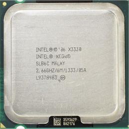 $enCountryForm.capitalKeyWord NZ - X3330 Original Intel Xeon X3330 Quad Core 2.66GHz LGA 775 95W 6M Cache Server CPU scrattered piece SLB6C EO