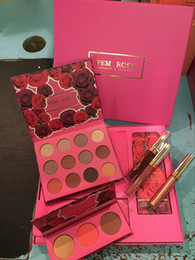 Discount shadow lipstick - DHL Makeup Set ColourPop Fem Rosa Set 12 color Eye shadow +3 color Highlighter +3 color Matte lipstick in stock