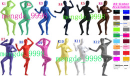 $enCountryForm.capitalKeyWord Canada - 22 Color Lycra Spandex Full Body Suit Sexy Catsuit Costumes New Unisex Bodysuit Outfit Cosplay Costumes Halloween Cosplay Suit M016