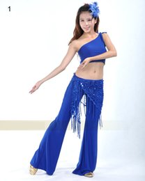 Chemise De Danse En Gros Pas Cher-Vente en gros Sanxie Shawl Belly Dance Dress Belly Dance Ceinture Belly Dance Hip Shirt Sirène Sequin Hip Serviette