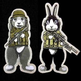 $enCountryForm.capitalKeyWord Canada - VP-168 Jailbreak Rabbit military Patches Cat Shit One patches Tactical embroidery Patches badges Hook & Loop Embroidery Badges