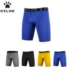 Sous-vêtement De Football En Gros Pas Cher-Vente en gros - Hommes Respirant Quick Dry Underwear Collants Gym Fitness Running Boxers Football Soccer Soccer Slim Shorts