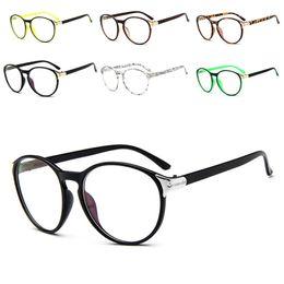 4f8177d0216 Wholesale- Unisex Stylish Glasses Cute Style Vintage Women Clear Lens Round  Frame Retro Eyeglasses Oculos Femininos Gafas-448E
