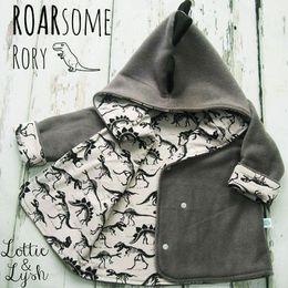$enCountryForm.capitalKeyWord Canada - 2017 New Children Spring Autumn Outwear Coat Baby Boy Dinosaur Long Sleeve Hooded Jacket INS Infant Baby Keep Warm Coat Free Shipping