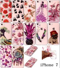 $enCountryForm.capitalKeyWord NZ - ultra thin Plating glitter powdeTPU cartoon flowers panda feather dog pineapple case for iphone 7 plus 6 6s 5s Samsung Galaxy S8 PLUS S7edge