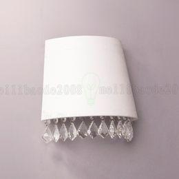 BE25 Nordic Retro Simple Wall Lamp Crystal Lights Lighting Children Room Bedroom Bedside Princess Natalie Living