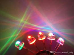 New Products And Rohs 5mm Rgb 7 Color Slow Flash Led 50pcs 2pin 5mm Rgb 7 Color Slow Flash Led Light-emitting Diode led