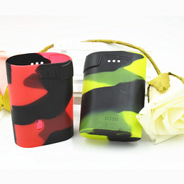 Watts bags online shopping - Marshal G320 Silicone Case Silicon Cases Bag Colorful Rubber Sleeve Protective Cover Skin For Smok Smoktech G Watt TC Box Mod Vape