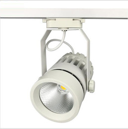 led track lights 30w cob 130140lm w moving head modern wall rail light equal 300w halogen lamps for clothes shop shoes store
