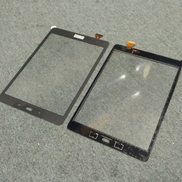 Discount digitizer touch panel for samsung tab - For Samsung Galaxy Tab A 9.7 SM-T550 T550 Original New Touch Screen Digitizer Replacement Parts Free Shipping