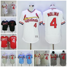bb42e1ecf 4 yadier molina jersey 2017 mens baseball jersey st louis cardinals  cooperstown throwback .
