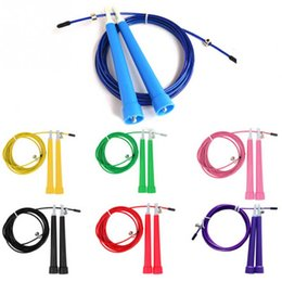 Jumping wire online shopping - Adjustable Speed Steel Wire Skipping Jump Rope Crossfit Fitnesss Equipment M Colors Hot