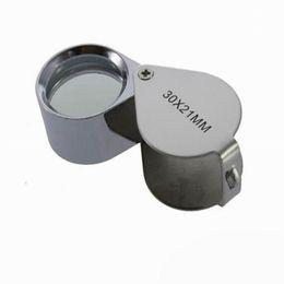 Venta al por mayor de Venta al por mayor Fast 180 PCS 30x 21mm Jewelers Eye Lupa Lupa Lupa