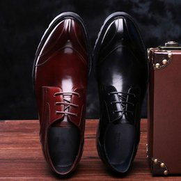 $enCountryForm.capitalKeyWord Canada - 2017 fashion Men's shoes really leather casual Pointed business dress shoes