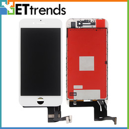 Iphone Screen Testing Australia - Quality AAA LCD Display for iPhone 7 LCD Screen Digitizer Touch Glass Screen Assembly Test one by one DHL Free Shipping AA0444
