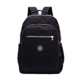 Chinese  Wholesale- Casual Women Laptop Backpack Waterproof Nylon Women's Youth Backpack 6 Color Schoolbag bagpack portfolio school for teenagers manufacturers