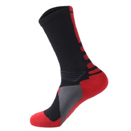 $enCountryForm.capitalKeyWord UK - 2017 Fashion Wholesale Cheap Price High Quality Mens Cushion Sole Basketball Sock Man Sports Socks For Soccer Free Shipping