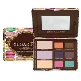 Sugar catS online shopping - 2017 Sugar Pop Eyeshadow Totally Cute Eyeshadow Cat Eyes Eyeshadow COLORS Palette Blush face Cosmestics Makeup DHL