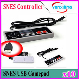 Discount best game computers - 10pcs Best selling USB Controller Game Gamerpad For NES Windows PC for MAC Computer Game Controller Gamepad YX-NES-01